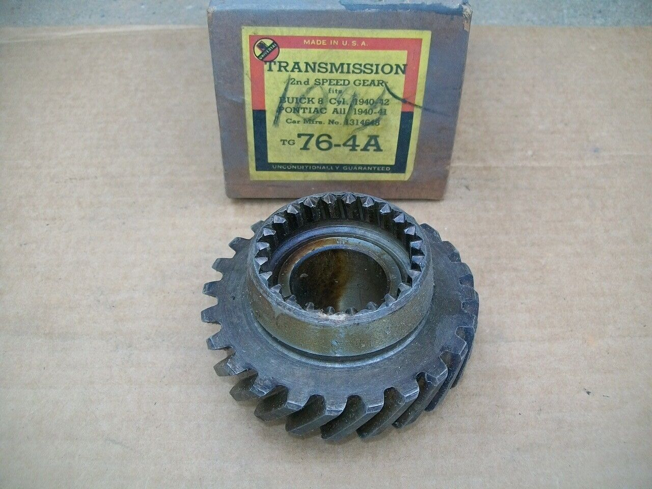 1940 41 42 46 47 48 49 50 51 52 53 54 Buick Pontiac Olds NORS 2nd SPEED GEAR