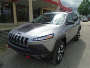 2018 Jeep Cherokee Trailhawk * GROUPE REMORQUAGE, TEMPS FROID*