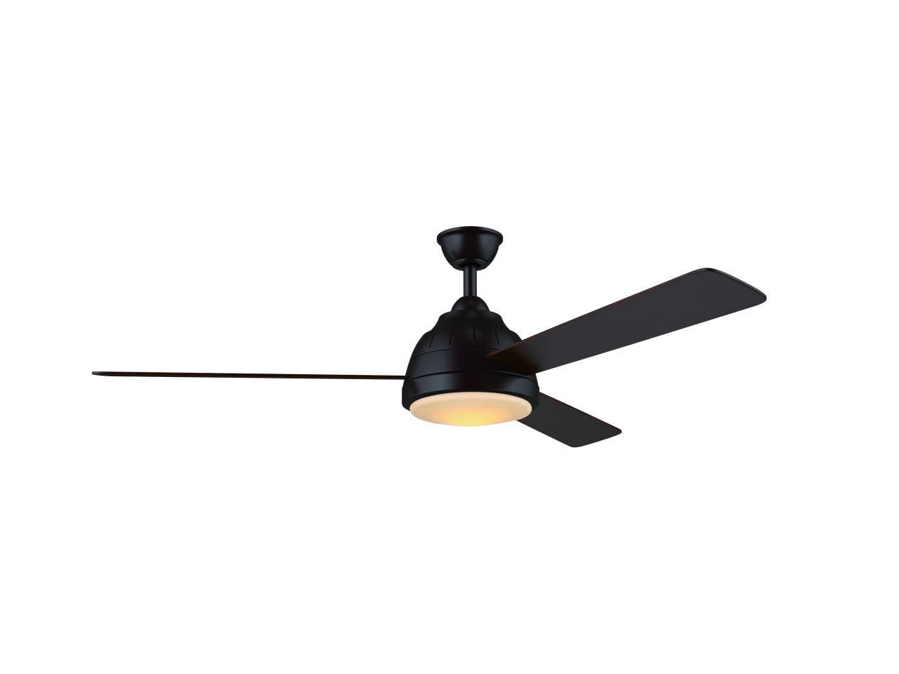 Wind River 52 Quot Neopolis Oiled Bronze 3 Blade Led Light