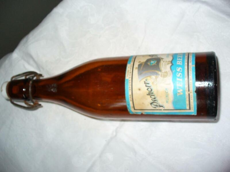 Vintage Weiss Beer Import Company Union NJ17 Oz. Applied Blob Top Stopper Top