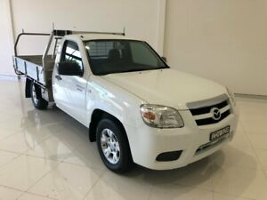 2011 Mazda BT-50 UNY0W4 DX 4x2 White 5 Speed Manual Cab Chassis Coffs Harbour Coffs Harbour City Preview