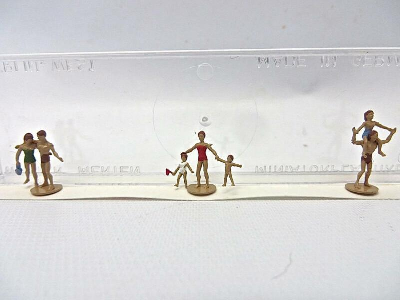 "Merten T960 TT Gauge Figures ""Bathers"" New Old Stock LOW SHIPPING"