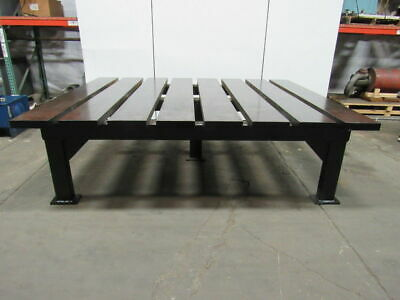 2-12 Thick Heavy Duty Steel Welding Layout Work Table Bench 116-12x95x33-12