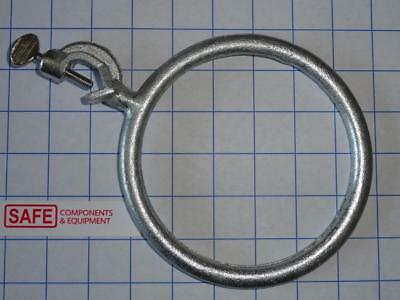 Lab Stand Support Ring 6 Diameter W Boss Head Clamp Plated Cast Iron Mm-442