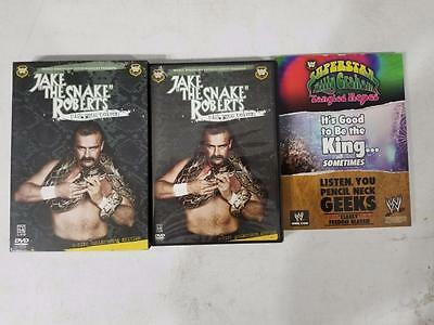 """WWE - Jake """"The Snake"""" Roberts: Pick Your Poison (DVD, 2005, 2-Disc Set, Collect"""