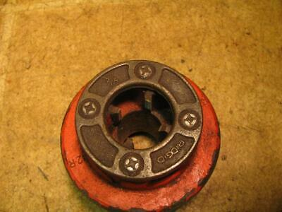 Ridgid 12r 34 Die Head Ratchet Hand Pipe Threader 700 Power Drive