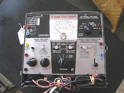 Vintage Sencore Tv Sweep Circuit Analyzer. Model Ss117 Mint Condition