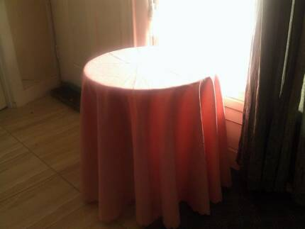Small round display table + tablecloth…$10 Pyramid Hill Loddon Area Preview