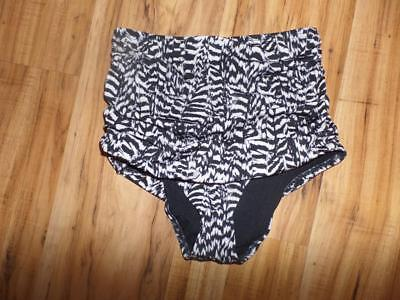 New Out From Under High Waist Rise Bikini Bottom Ruched Urban Outfitters (Out From Under Ruched High Waist Bikini Bottom)