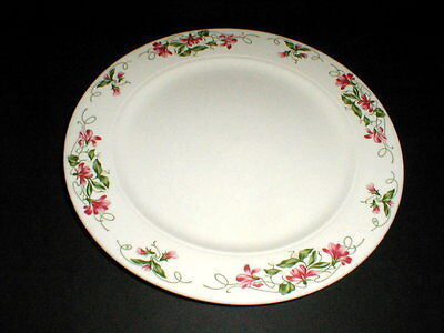 Homer Laughlin Restaurant Ware Seville French PINK VIOLETS Dinner Plate/s on Rummage