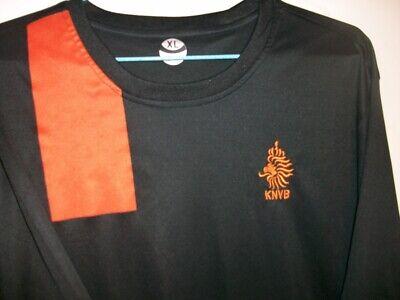 UEFA Holland Netherlands Black 2012-13 #6 van Bommel Away Soccer Jersey Size XL image
