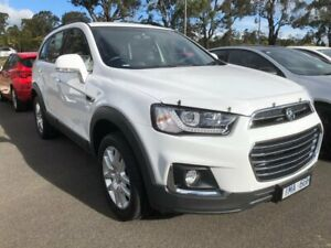 2018 Holden Captiva CG MY18 Active 2WD White 6 Speed Sports Automatic Wagon