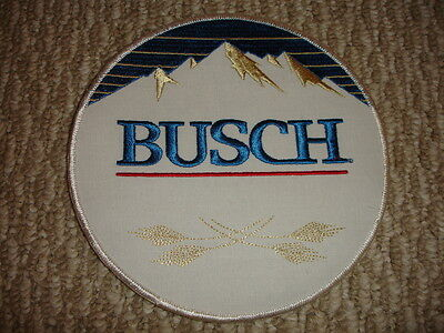 """Collectible Busch Beer Patch Larger Size 7"""""""