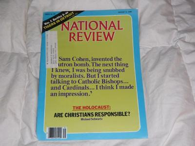 National Review Magazine   August 8 1980   Christians Responsible For Holocaust