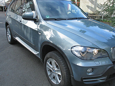 Twin Trittbrett (BMW X5 Typ E70/X70 Alu Trittbretter Medes Point)