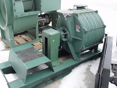 Lamson Direct Drive Skid Mounted Blower 516-0-6-ad W25 Hp Motor Needs Coupling