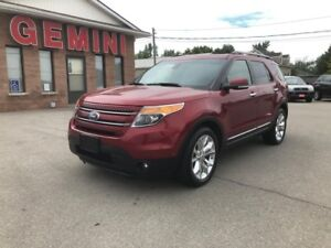 2014 Ford Explorer Limited Navi Roof Tech Pkg 6 Month Powertrain