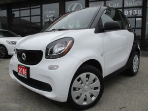 2016 Smart fortwo coupe CPE-ONE OWNER-AUTO-BLUETOOTH