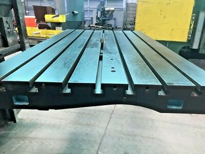T- Slot Table Fixture Plate 40 X 72.0 Buy Today 4000.00.