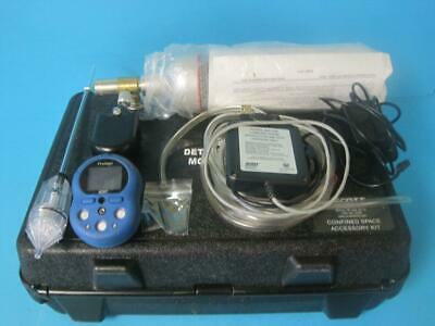 Scott Safety Protege 4 Gas Meter Monitor O2 Lel H2s Co With Accessories Case