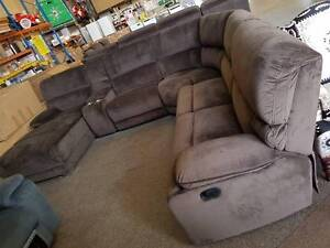 BOXED STOCK! Microfibre corner theatre lounge with recliners! Springwood Logan Area Preview
