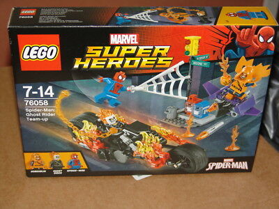 LEGO MARVEL 76058 SPIDER MAN GHOST RIDER TEAM UP BRAND NEW