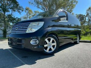 2004 Nissan Elgrand E51 Highway Star Black 4 Speed Automatic Campervan Kingston Logan Area Preview