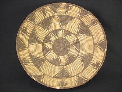 A very nice Apache tray, Native American Indian Basket, Circa: 1900