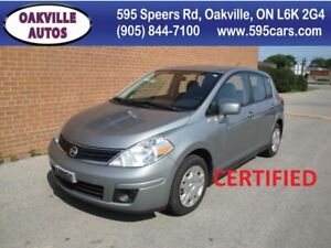 2010 Nissan Versa 1.8 S/NO ACCIDENTS/SAFETY AND WARRANTY