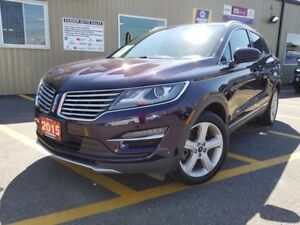 2015 Lincoln MKC LOW KM-FACTORY WARRANTY-REVERSE CAMERA-LEATHER