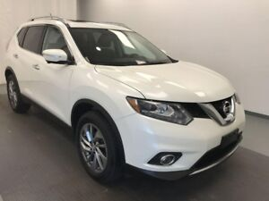 2015 Nissan Rogue 5 PASSENGER, AWD, LEATHER SEATS, SUNROOF