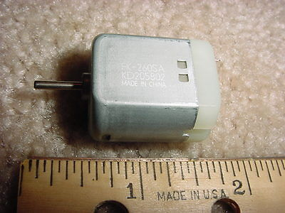 Small Dc Electric Motor 12- 24 Vdc 5800 Rpm 15 G-cm M35