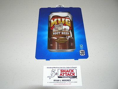 Dixie Narco 501e 276hv Soda Vending Machine Mug Root Beer Can Vend Label