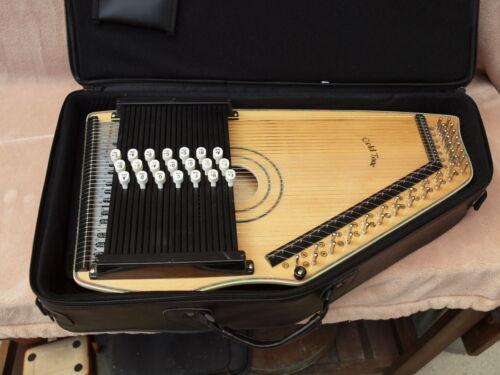 GOLD TONE ELECTRIC autoharp Chord-A-Harp NOS w/case
