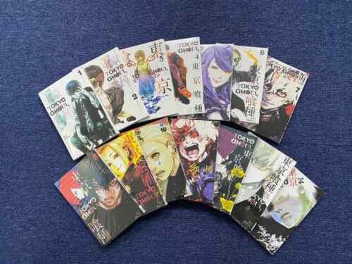 COMIC TOKYO GHOUL Sui Ishida Manga Volume 1-14 English FULL SET EXPRESS SHIPPING