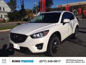 2016 Mazda CX-5 GS ONE OWNER..ALL WHEEL DRIVE..POWER ROOF..BACKU