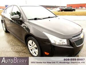 2013 Chevrolet Cruze LT ***CERTIFIED ACCIDENT FREE*** $8,499