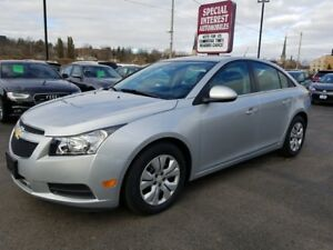 2014 Chevrolet Cruze 1LT CLEAN CAR PROOF !!  ONE OWNER !!  ON...