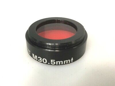Edmund Optic 65-801 Lens Filter Mount M30.5x0.5mm Wir Red Machine Vision Filter