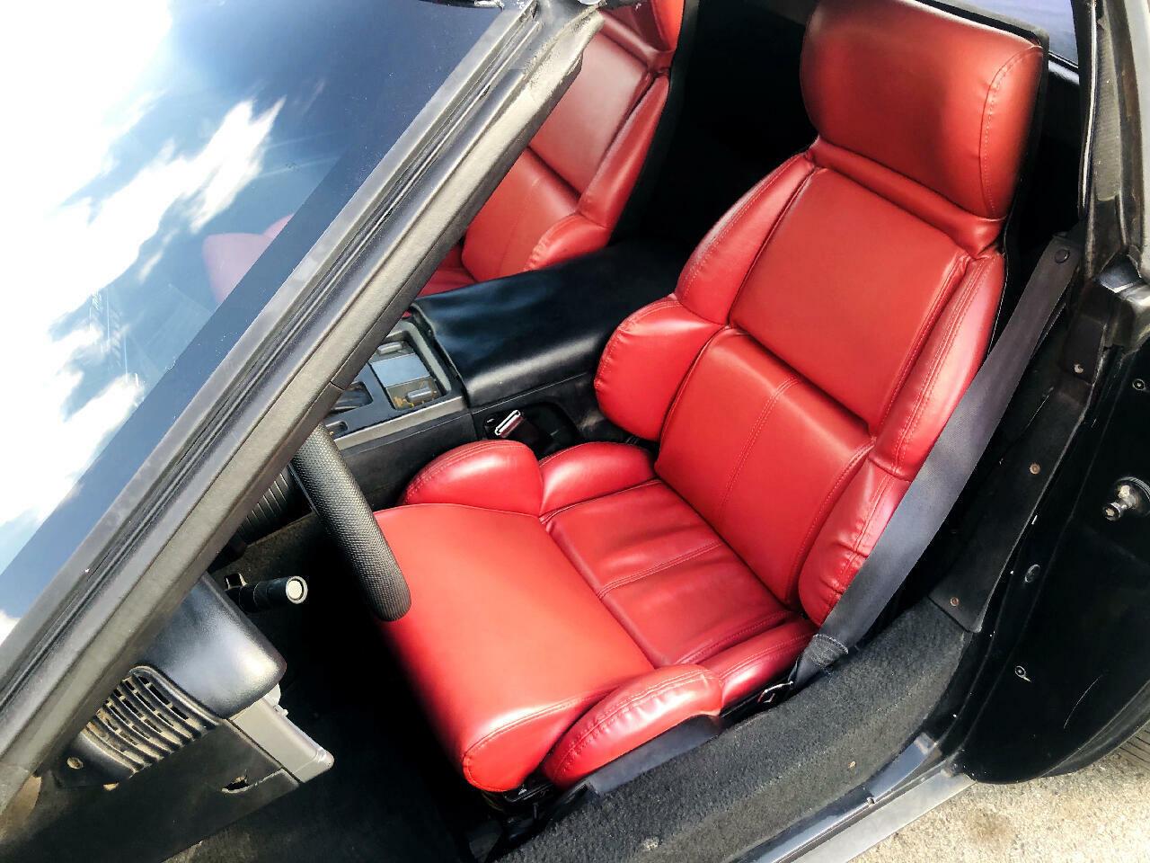 1991 Black Chevrolet Corvette Convertible  | C4 Corvette Photo 10