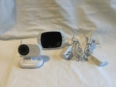 """Firstpower Baby Monitor with Camera and Audio, 2-Way Talk, 3.5"""" Large LCD Screen"""