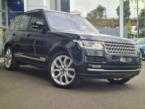 2014 Land Rover Range Rover L405 14.5MY Vogue Black 8 Speed Sports Automatic Wagon