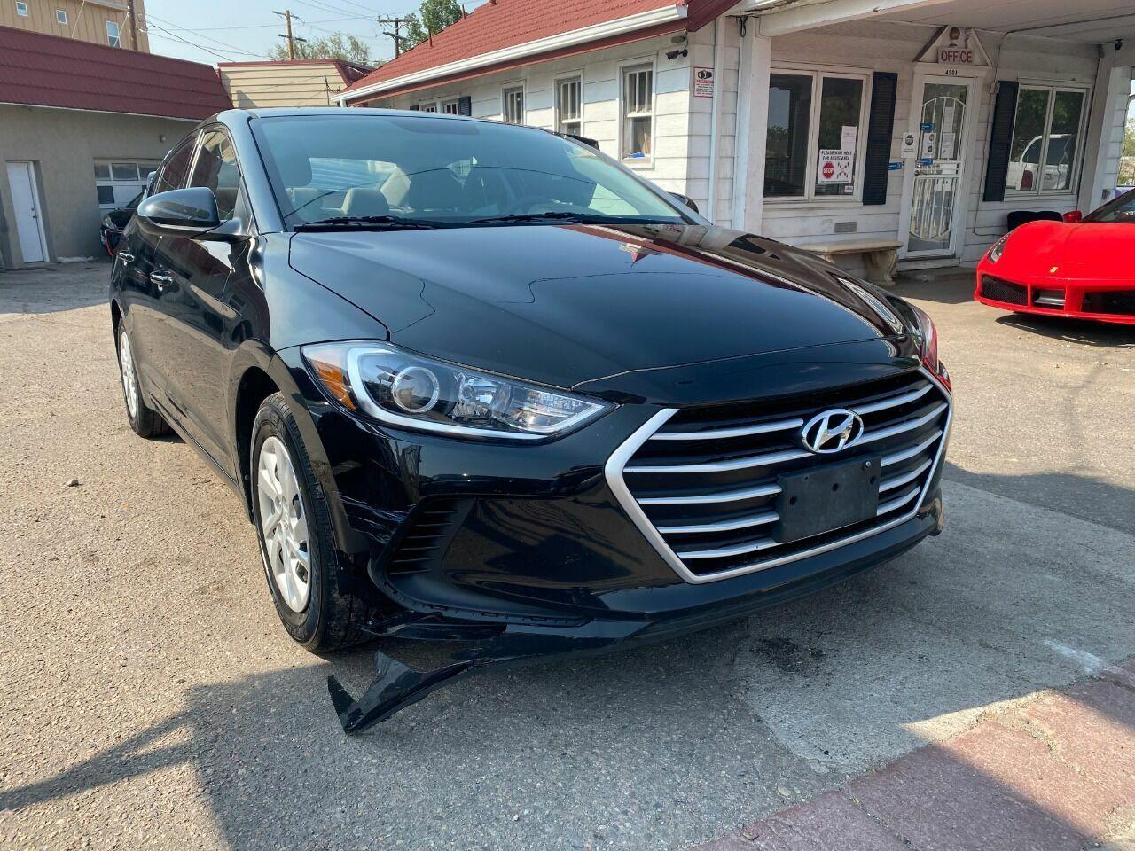 2018 Hyundai Elantra, Black with 40793 Miles available now!