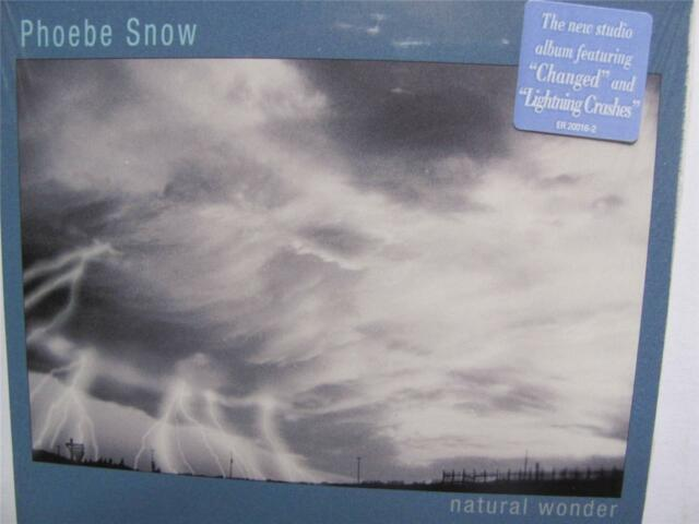 Phoebe Snow - Natural Wonder   (CD 2003)  new