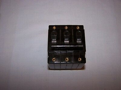 Airpax Upl111-1-62-302 Circuit Breaker 3p 250v New