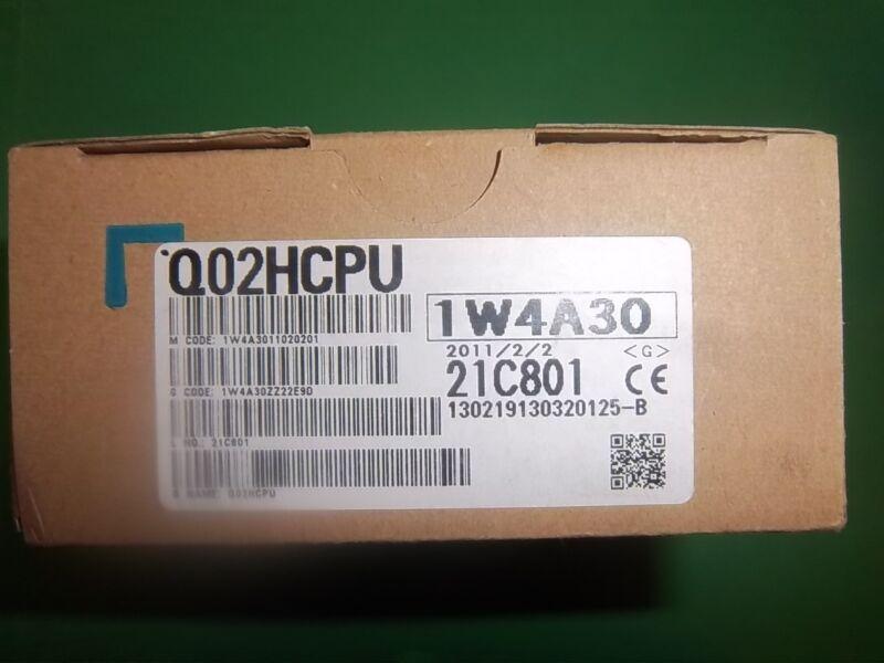 Mitsubishi Q02HCPU Processor, Unopened,New in Box, WARRANTY Can Ship Today.