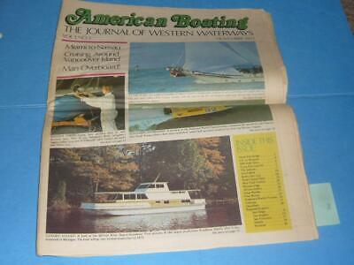 AMERICAN BOATING JOURNAL MAGAZINE / NOVEMBER 1971 / MIAMI TO NASSAU / VANCOUVER for sale  Shipping to Canada