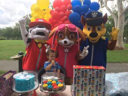 Mascot costumes $50