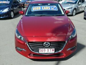 2017 Mazda 3 BN5276 Maxx SKYACTIV-MT Red 6 Speed Manual Sedan North Lakes Pine Rivers Area Preview