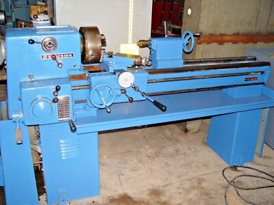 15 Clausing W48 Between Centers Variable Speed Engine Lathe - Hardened Ways